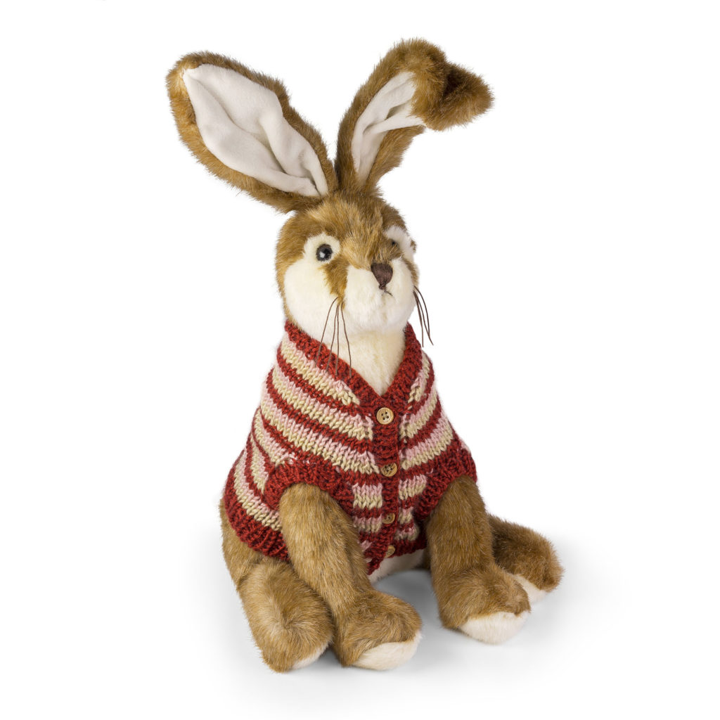 Amos the Hare by Dora Designs from the Cotswold Gift Gallery