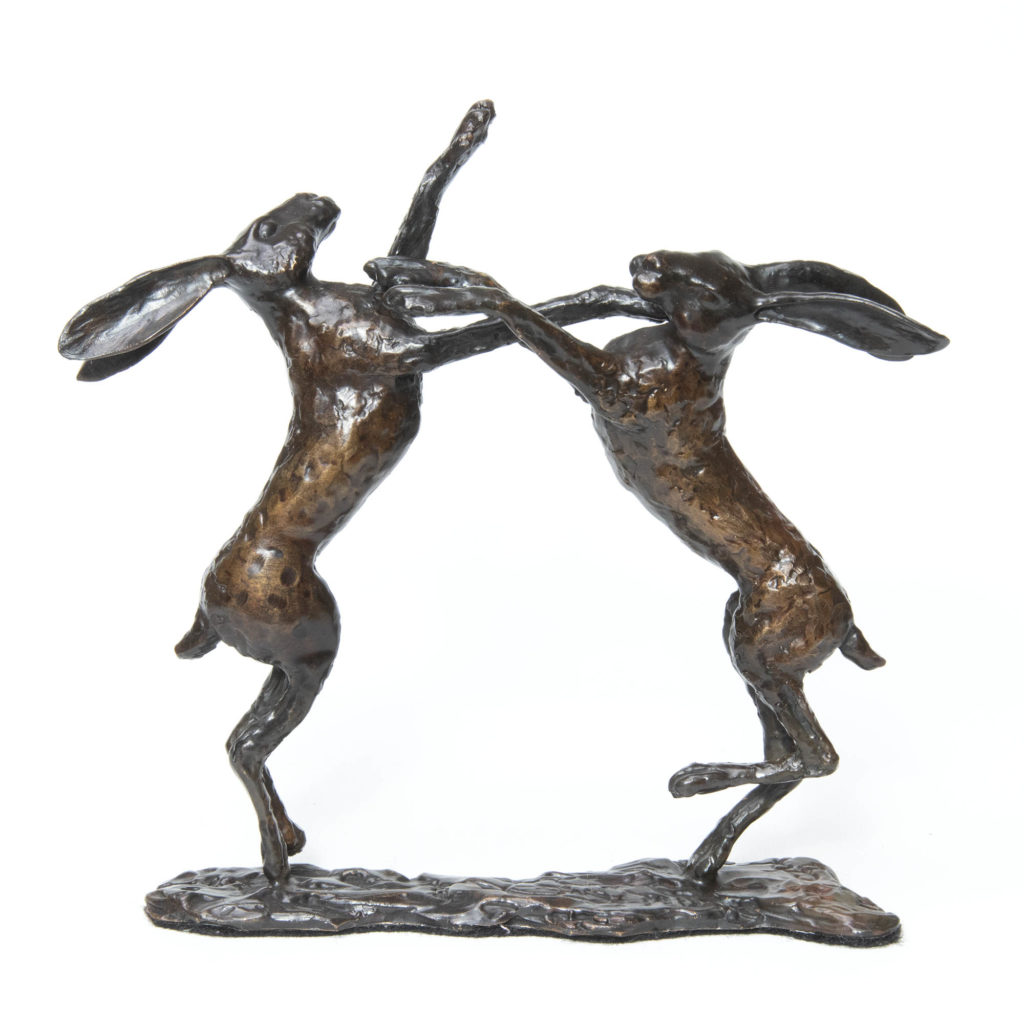 Boxing Hares 1024x1024