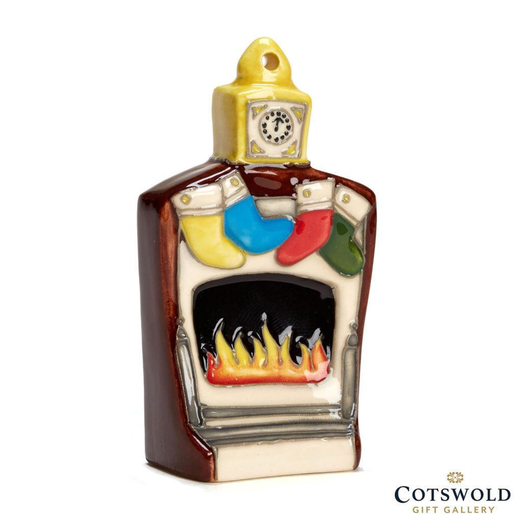 Christmas Miniature Fireplace 1024x1024