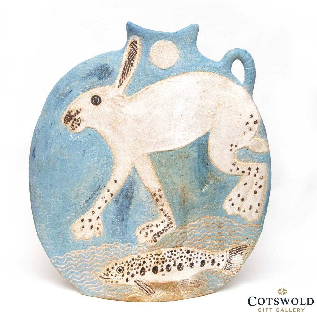 Hare And Fish Slab Vase 1024x1024