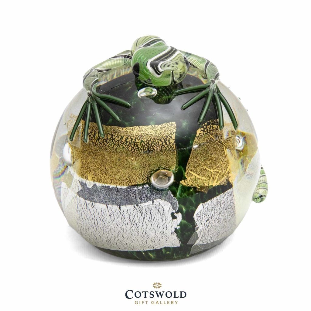 Lizard Paperweight Green 2 1024x1024