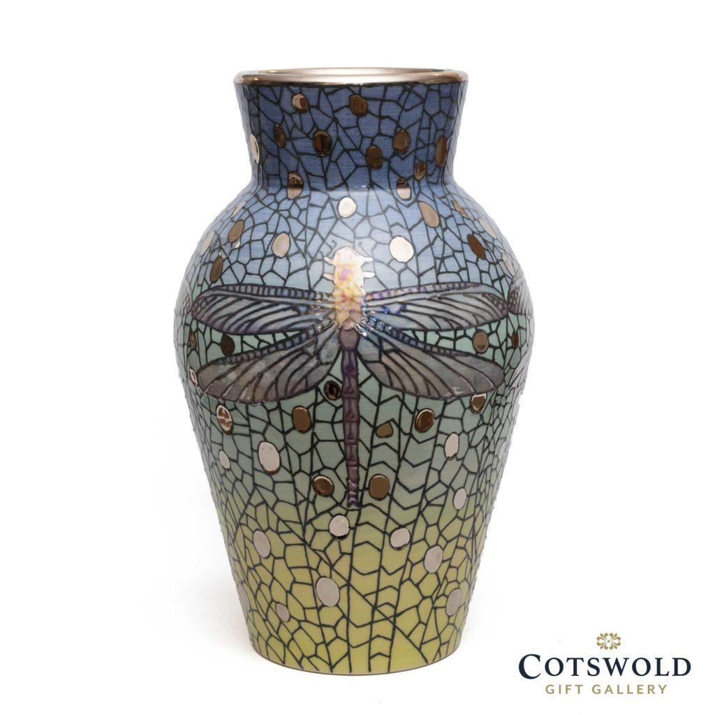 Dennis Chinaworks Lustred Dragonfly Vase 1024x1024