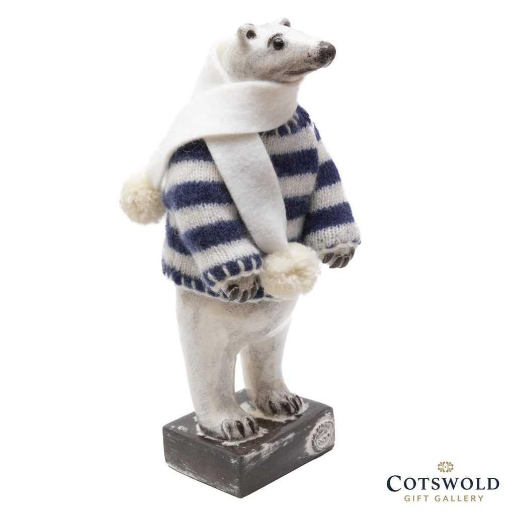 Gwen Vaughan Polar Bear Blue Stripey Jumper 2 1024x1024