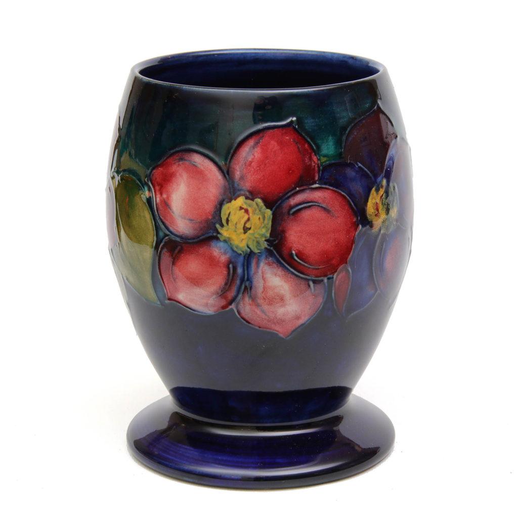 Moorcroft Vintage Clematis Goblet Vase 1 1024x1024