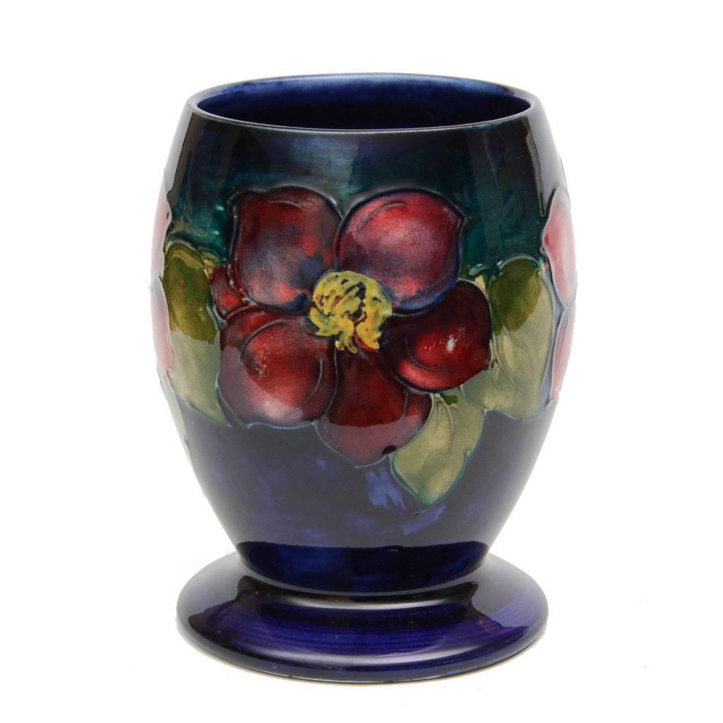 Moorcroft Vintage Clematis Goblet Vase 2 1024x1024