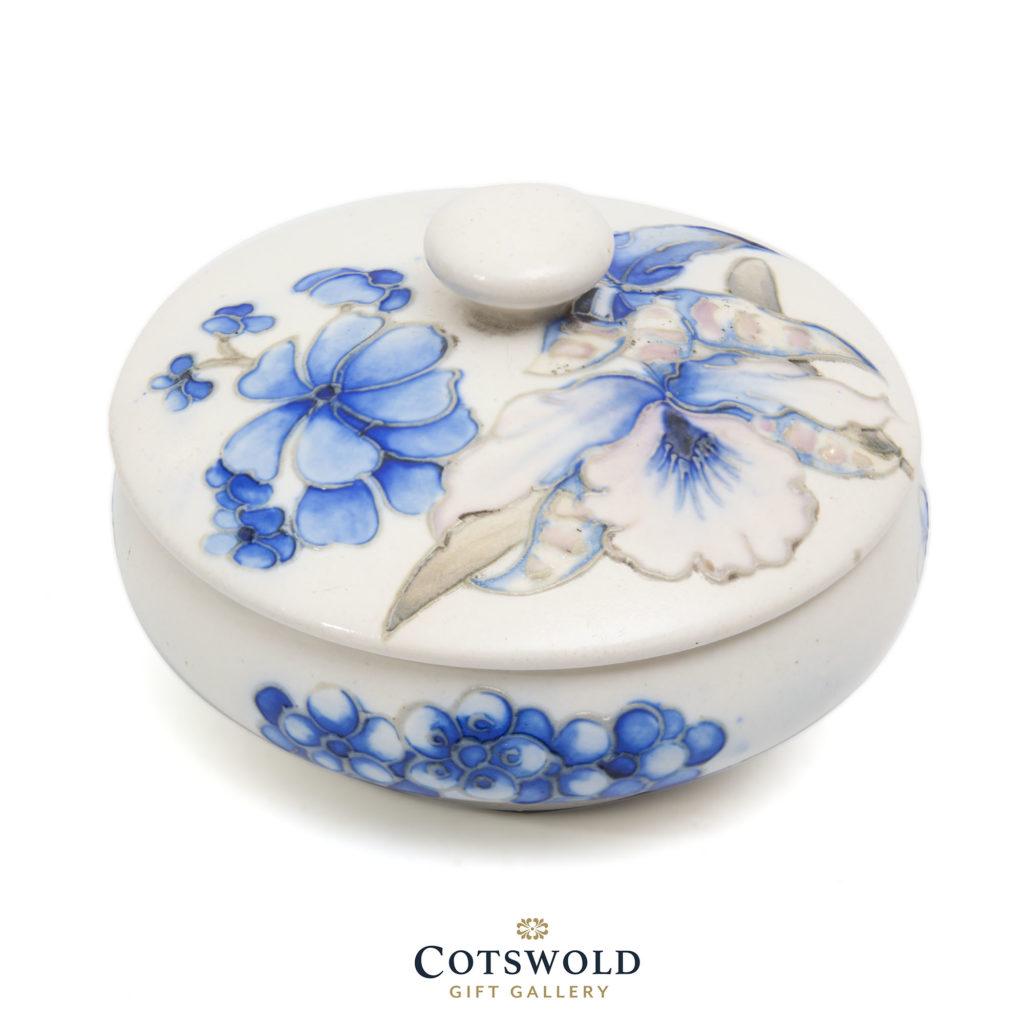 Moorcroft Vintage Orchid Powder Bowl 1 1024x1024