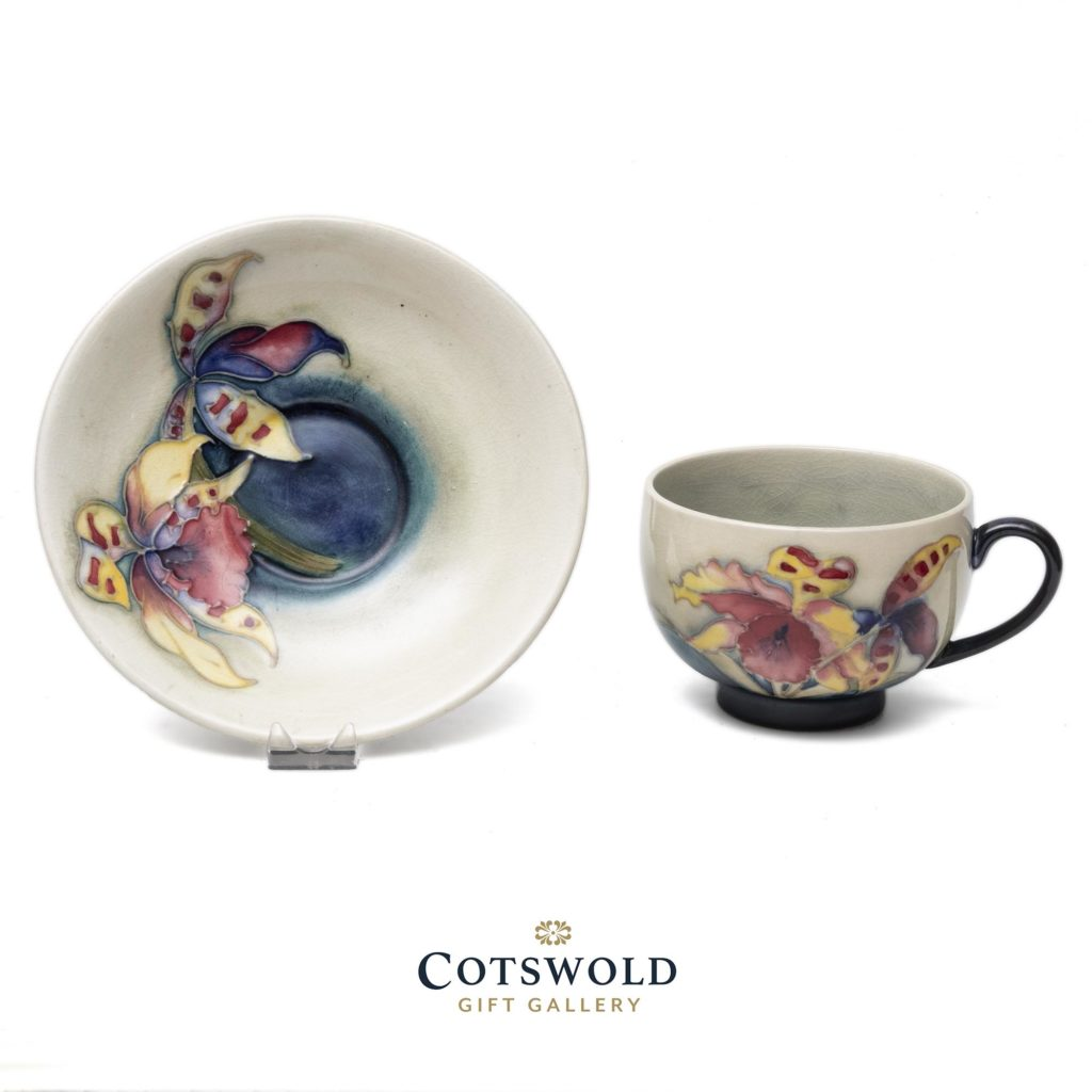 Moorcroft Vintage Orchid Teacup And Saucer2 1024x1024