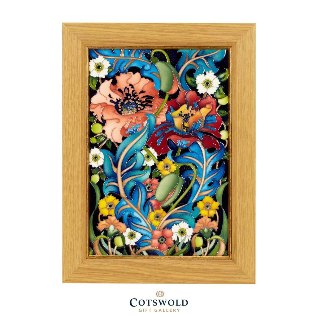 Moorcroft Pottery Arts Crafts Plaque 02 1024x1024