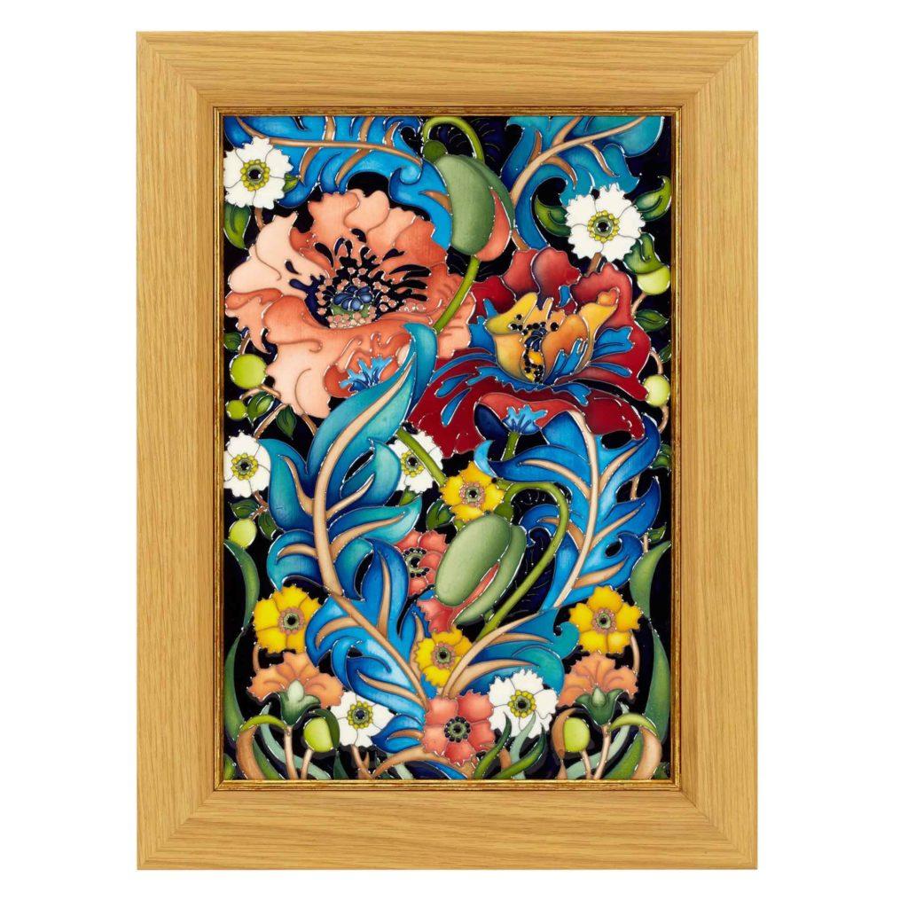 Moorcroft Pottery Arts Crafts Plaque 03 1024x1024