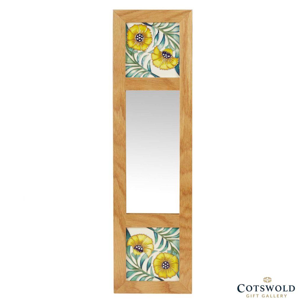 Moorcroft Pottery De Morgan Mirrors Cornflower 1024x1024