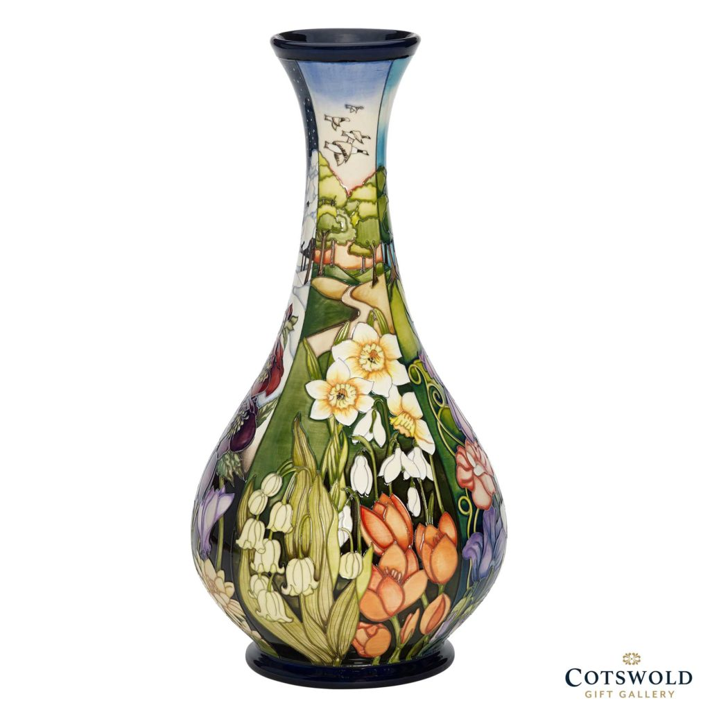 Moorcroft Pottery Four Seasons Vase Spring 1024x1024
