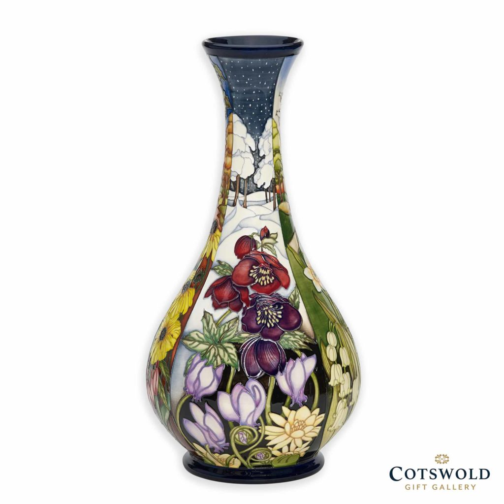 Moorcroft Pottery Four Seasons Vase Winter 1024x1024