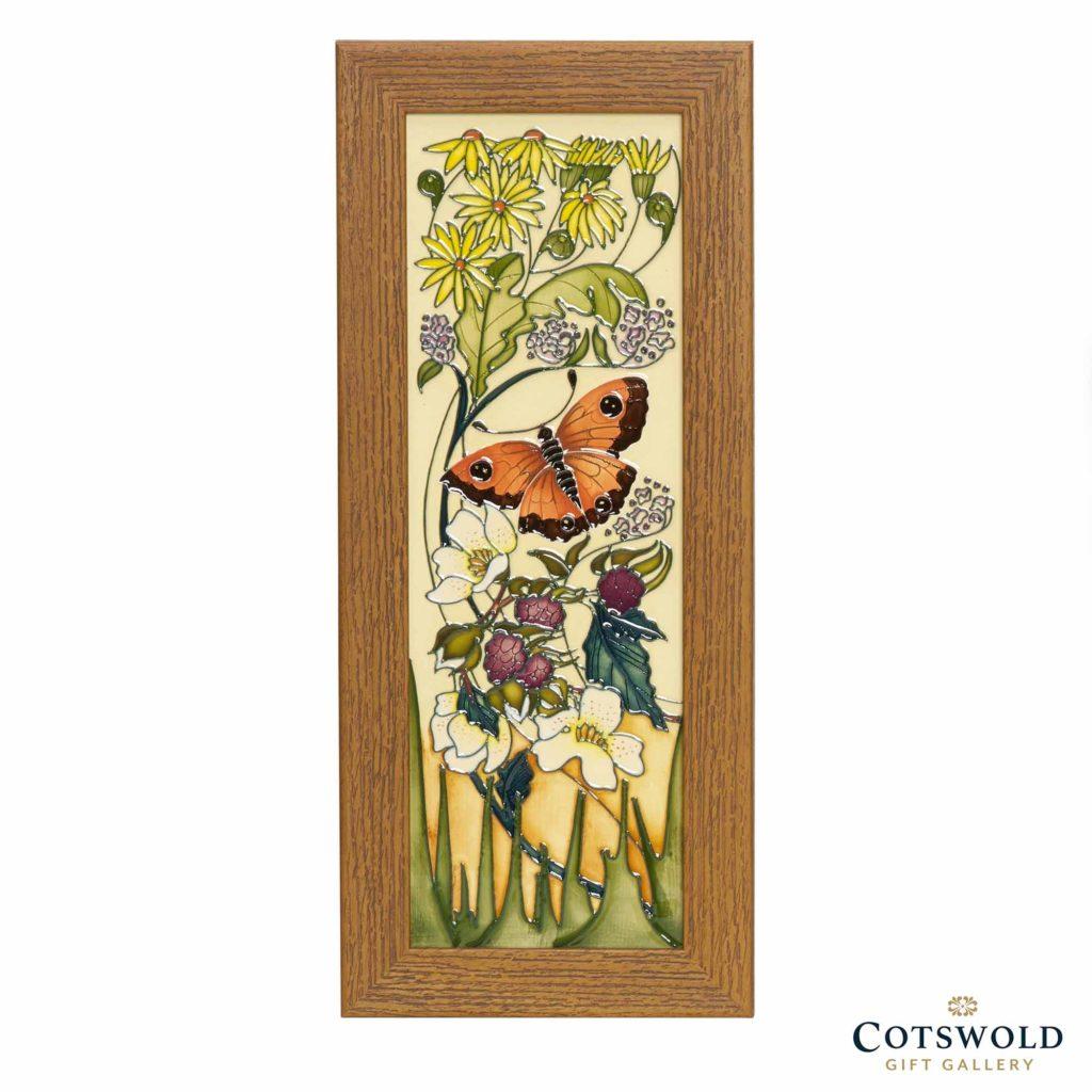 Moorcroft Pottery Gatekeeper Butterfly Plaque 1024x1024