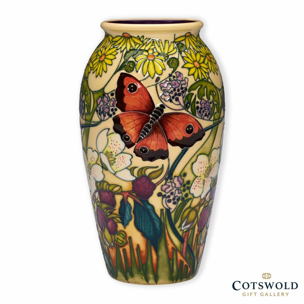 Moorcroft Pottery Gatekeeper Butterfly Vase 1024x1024