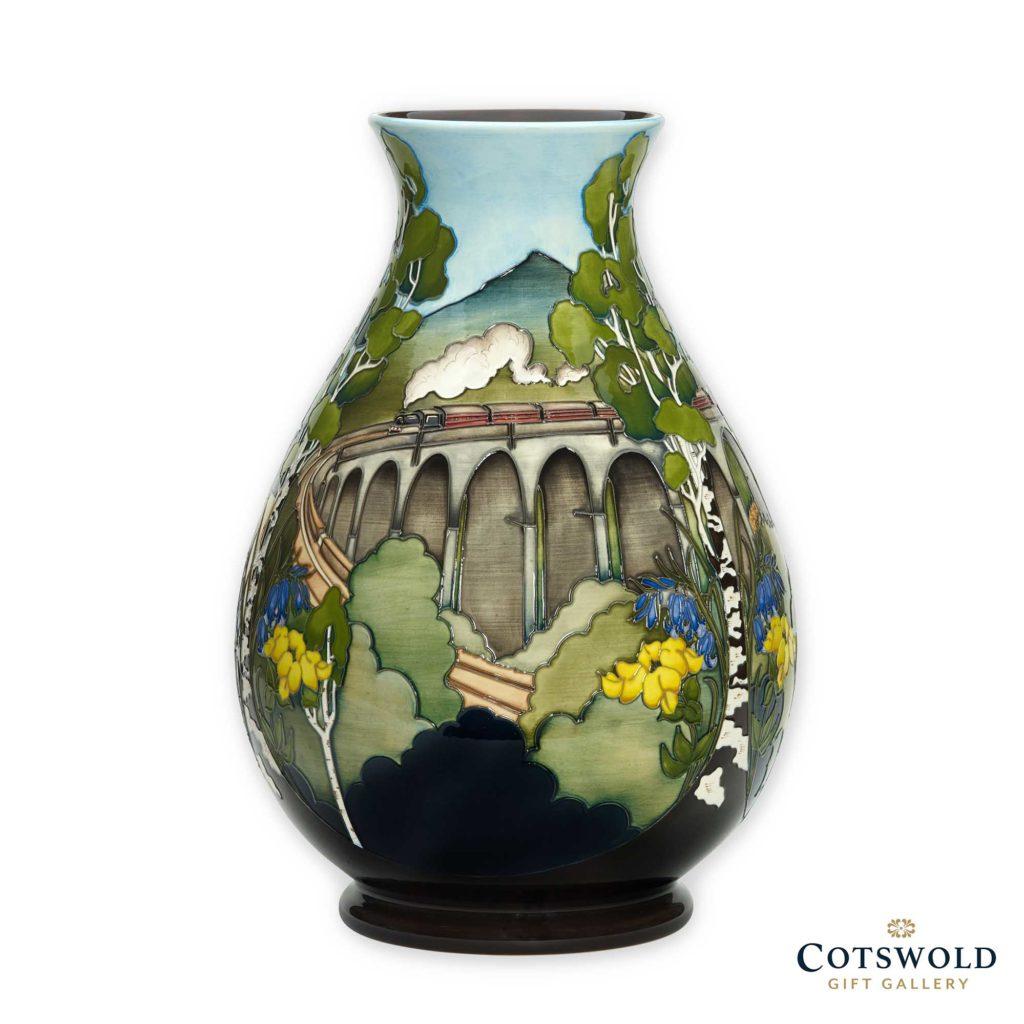 Moorcroft Pottery Glenfinnan Viaduct Vase 01 1024x1024