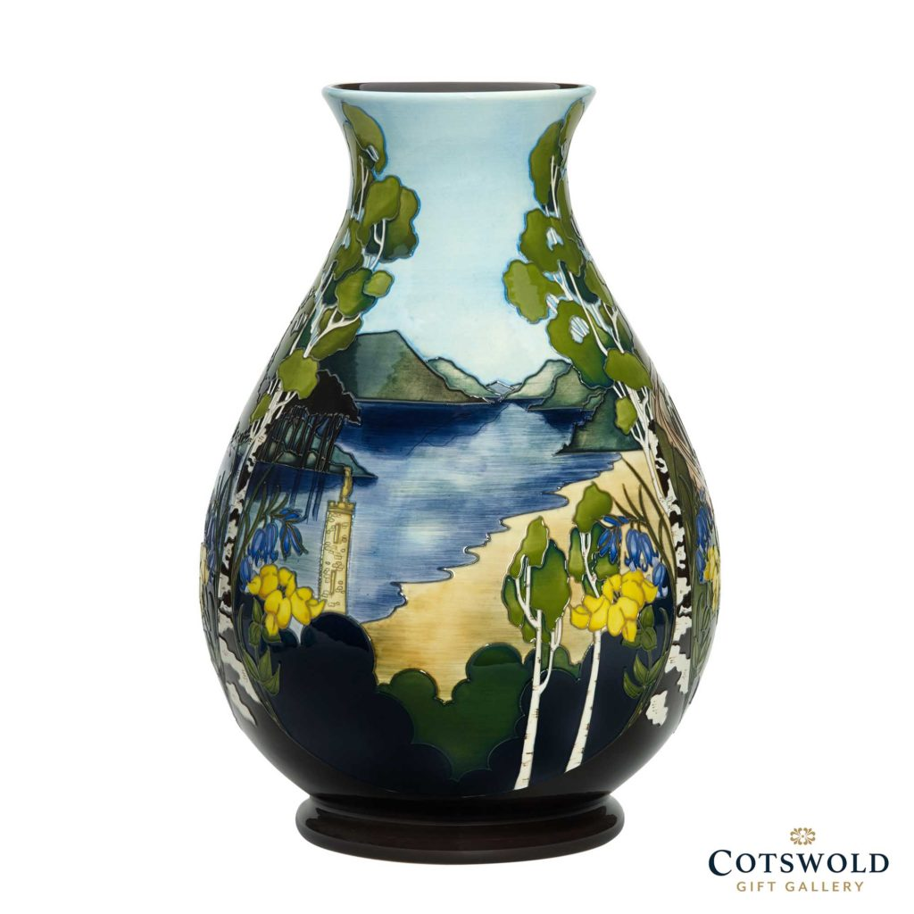 Moorcroft Pottery Glenfinnan Viaduct Vase 02 1024x1024