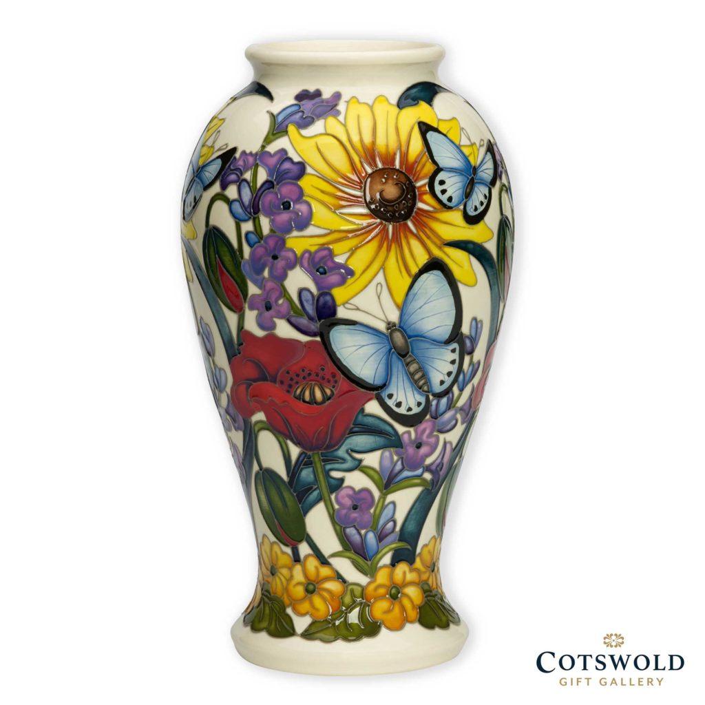 Moorcroft Pottery Holly Blue Butterfly Vase 1024x1024