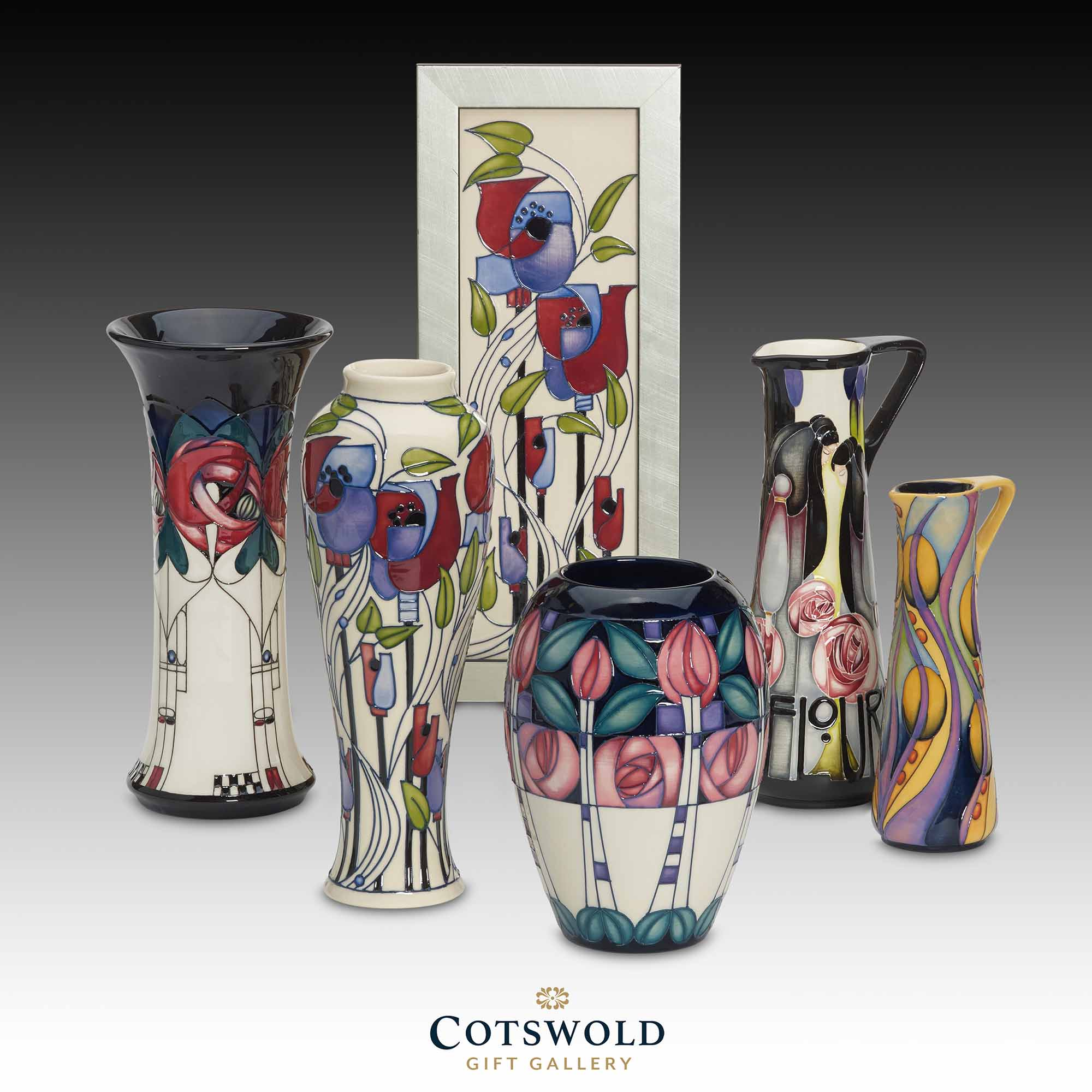 Moorcroft Pottery Mackintosh Collection 2020