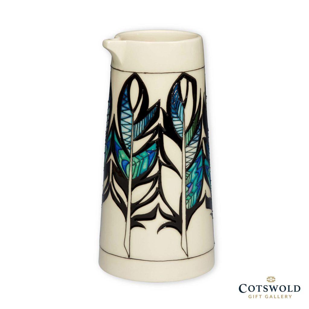Moorcroft Pottery Puzzlewood Feather Jug 1024x1024