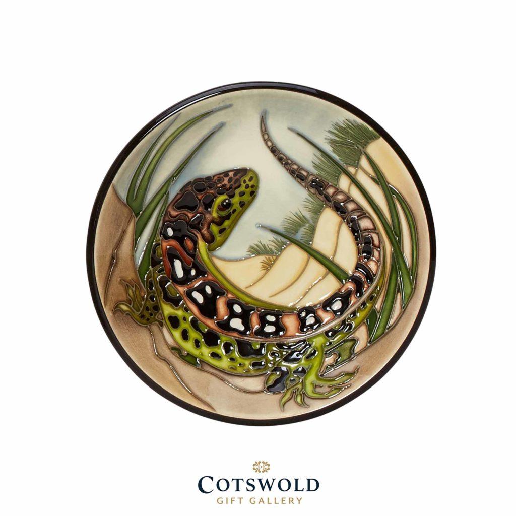 Moorcroft Pottery Sand Lizard Plate 1024x1024