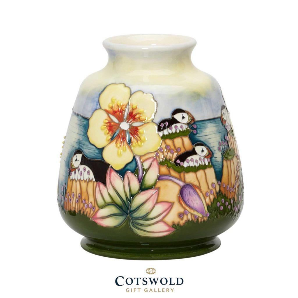 Moorcroft Pottery Spotted Rock Rose Vase 01 1024x1024