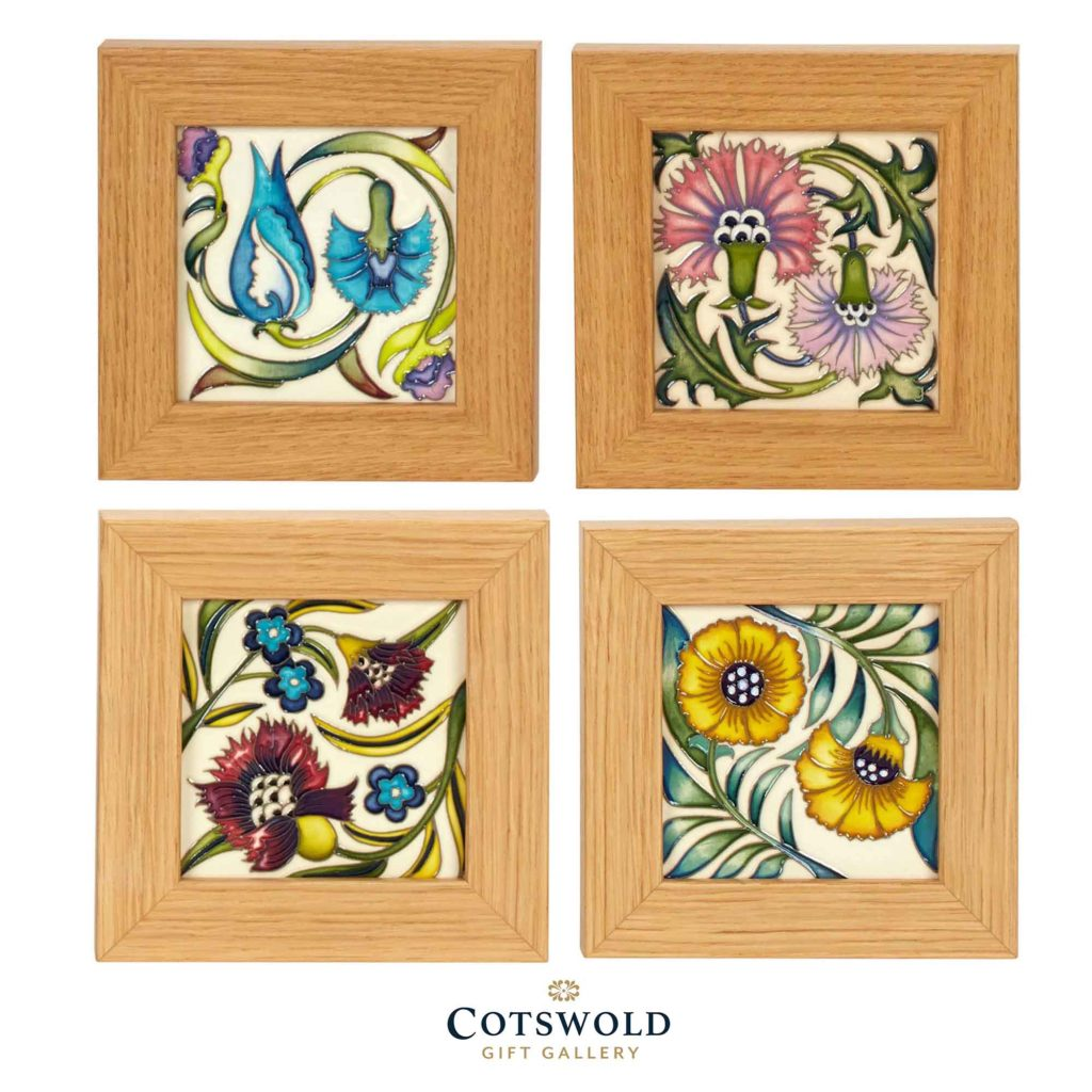 Moorcroft Pottery William De Morgan Plaque Collage Copyright Cotswold Gift Gallery 1024x1024
