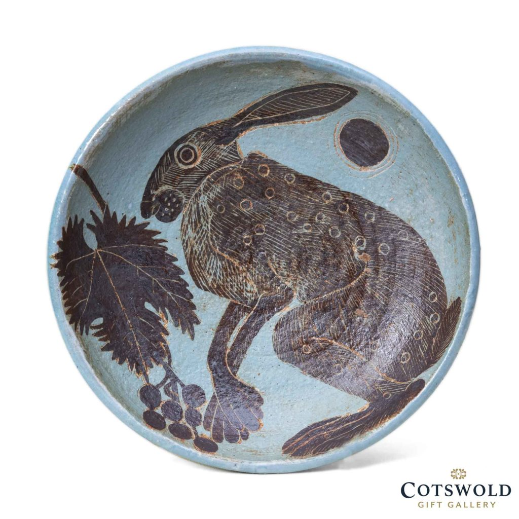 Michele Cowmeadow Hare And Vine Plate 08 01 1024x1024