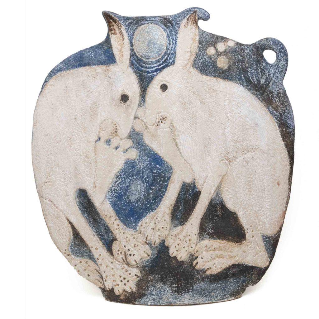 Michele Cowmeadow Hare Vase 1024x1024
