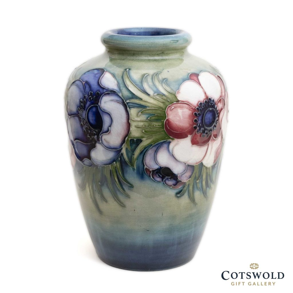 William Moorcroft Pottery Vintage Anemone Vase 1 1024x1024