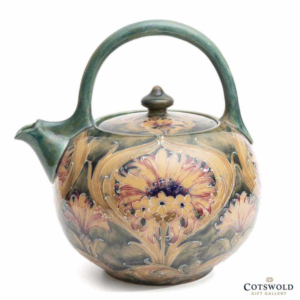Moorcroft Pottery Vintage William Moorcroft Cornflower Teapot 3 1024x1024