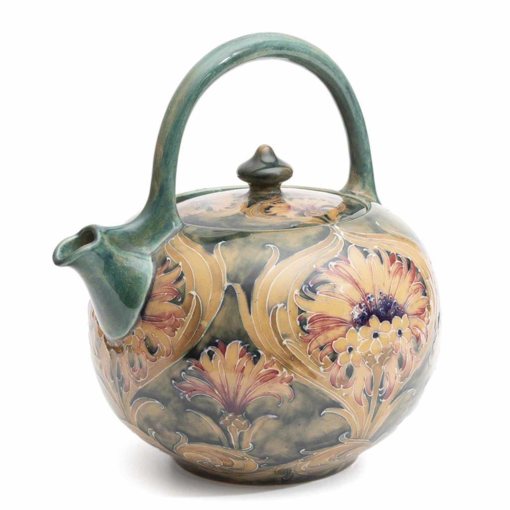 Moorcroft Pottery Vintage William Moorcroft Cornflower Teapot 4 1024x1024