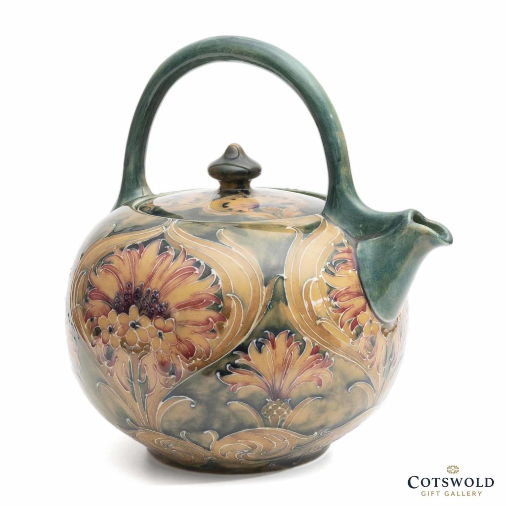 Moorcroft Pottery Vintage William Moorcroft Cornflower Teapot 5 1024x1024