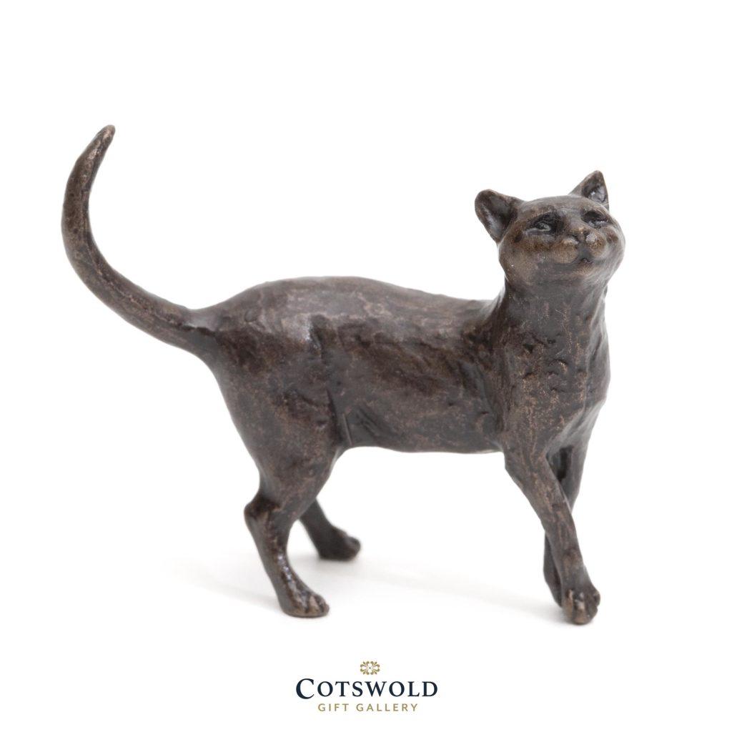Butler And Peach Bronze Miniature Cat Standing 1 1024x1024