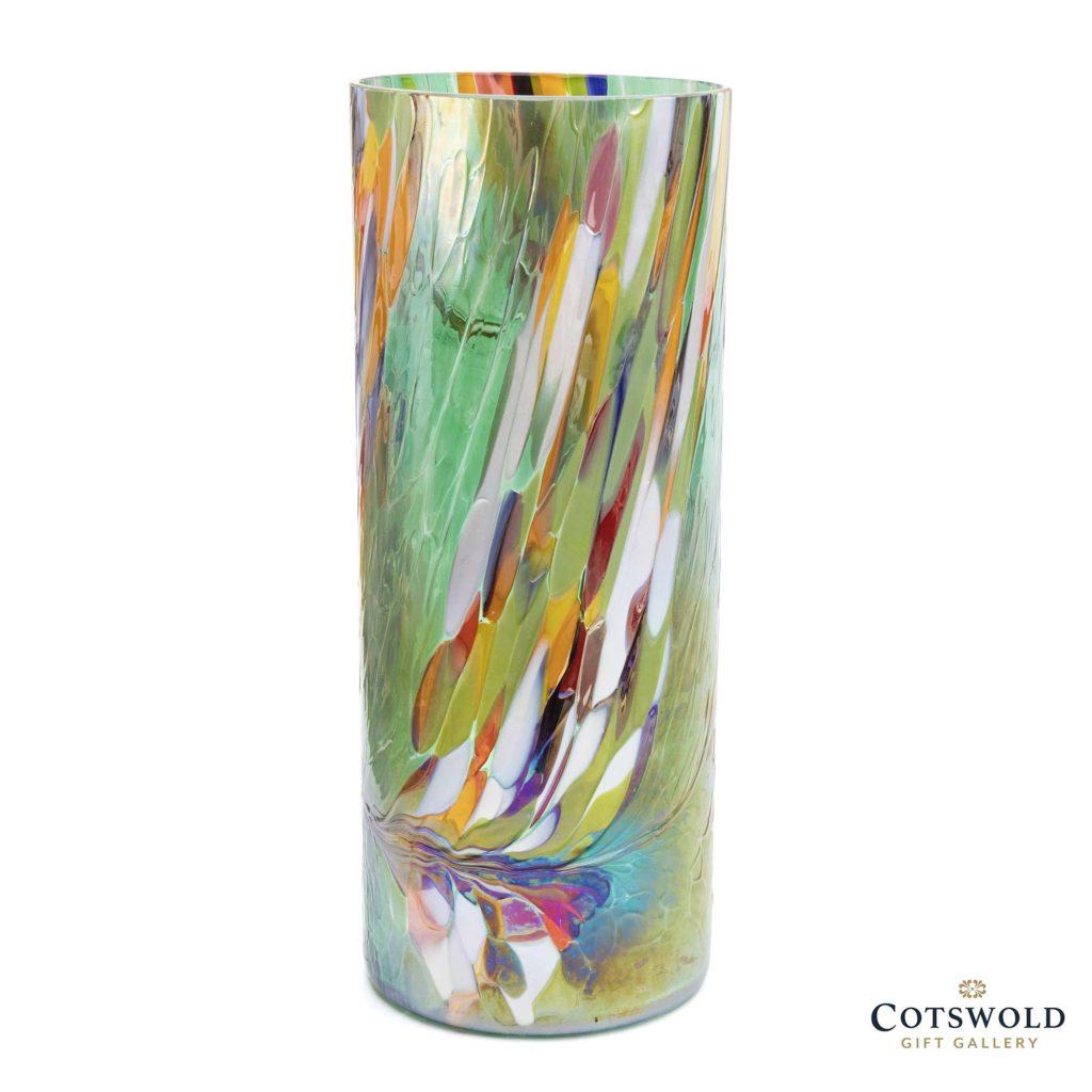 Dj Glassware Cylinder Vase Emerald Green 3 1024x1024