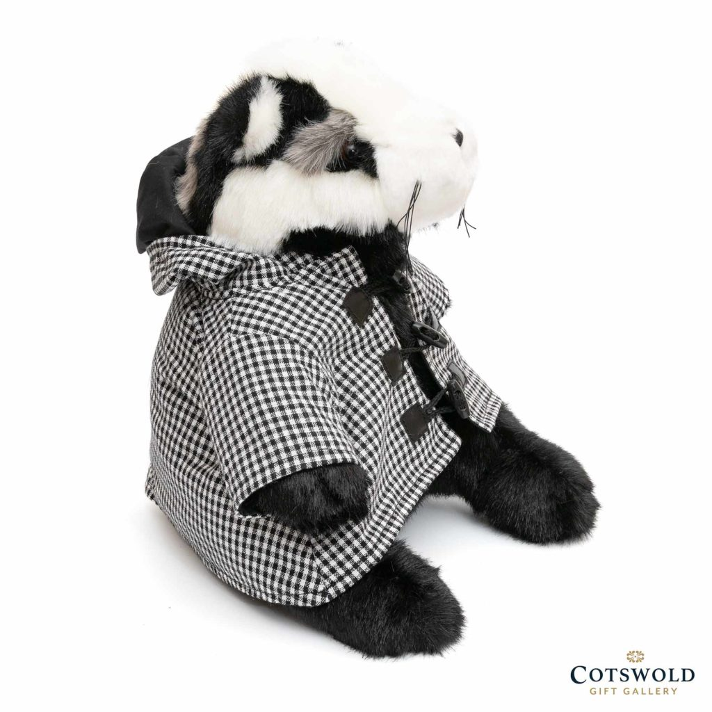 Dora Designs Percy Brocklehurst Badger Doorstop 1 1024x1024
