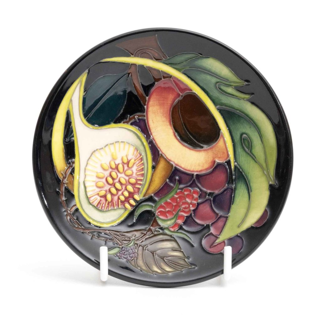 Moorcroft Pottery Queens Choice Coaster 780 4 2 1024x1024