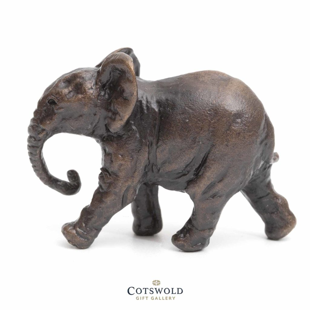 Richard Cooper Bronze Miniature Jaunty Elephant 3 1024x1024