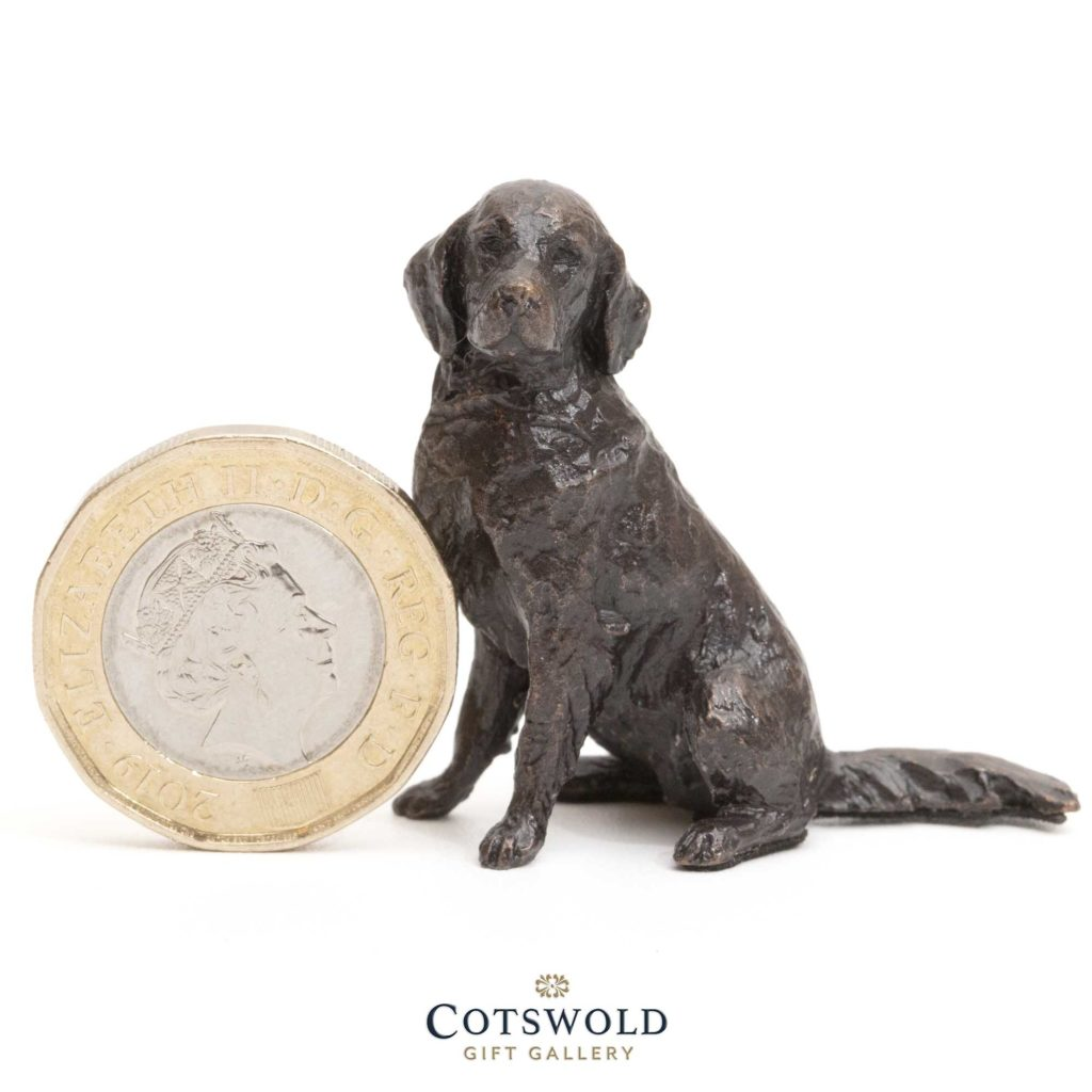 Richard Cooper Bronze Miniature Retriever Sitting 1 1024x1024