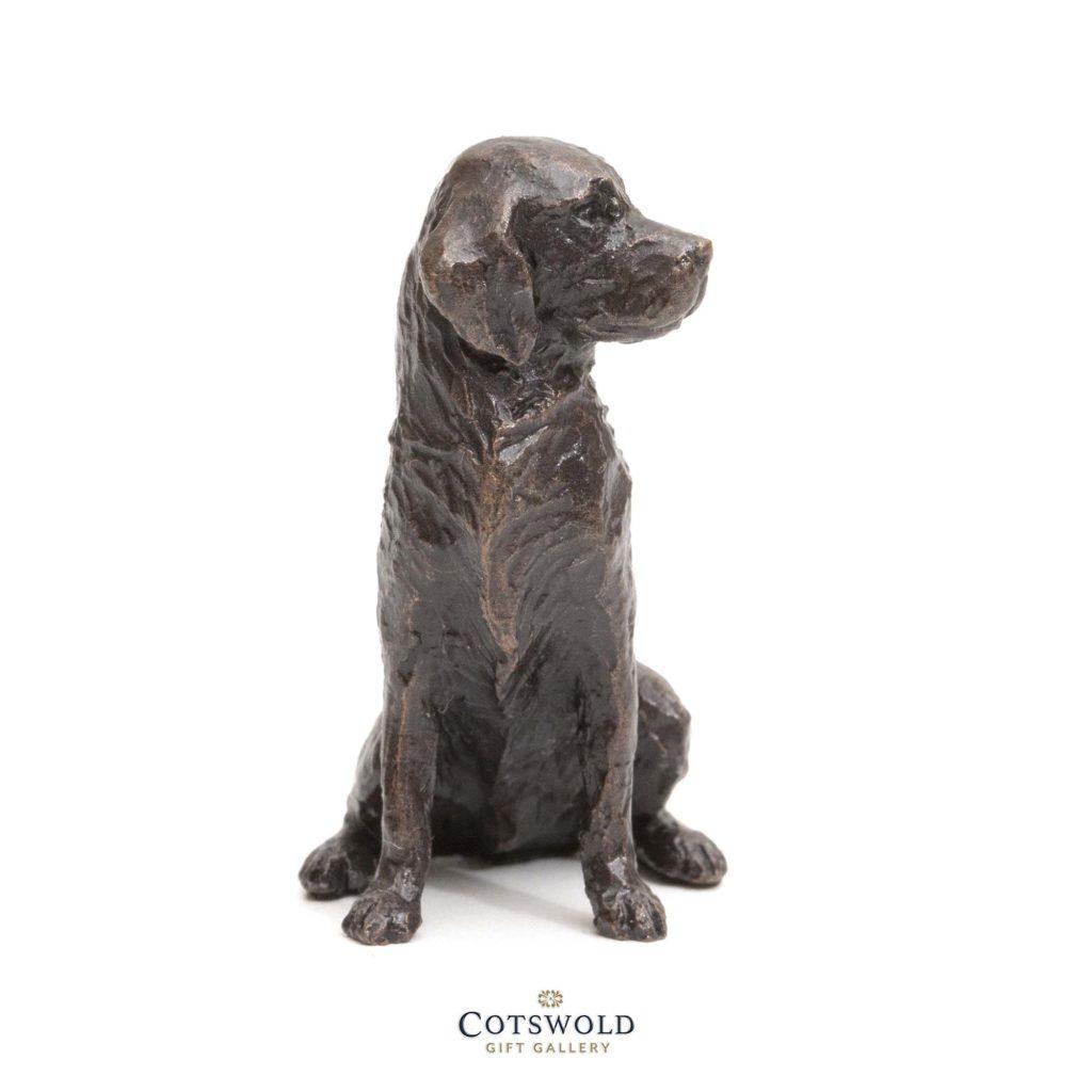 Richard Cooper Bronze Miniature Retriever Sitting 3 1024x1024
