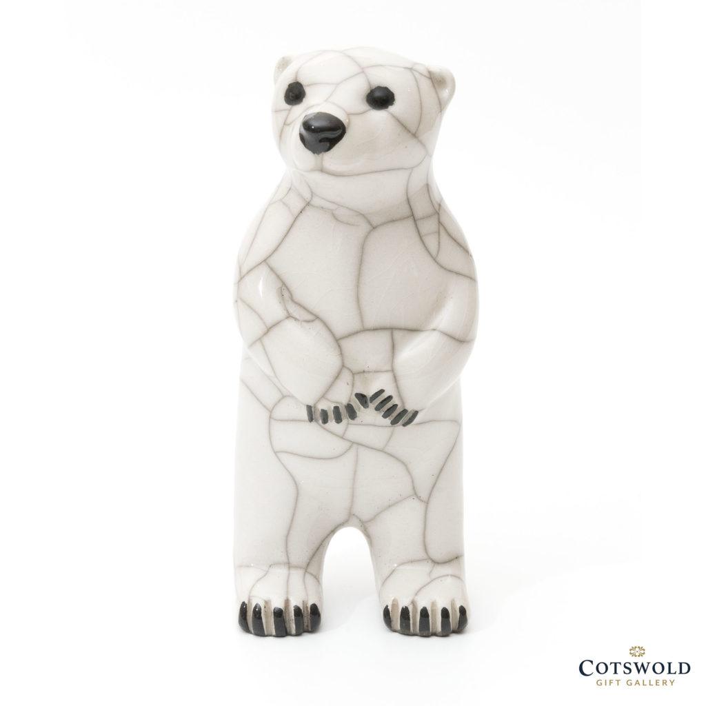 Chloe Harford Raku Polar Bear Standing 1 1024x1024