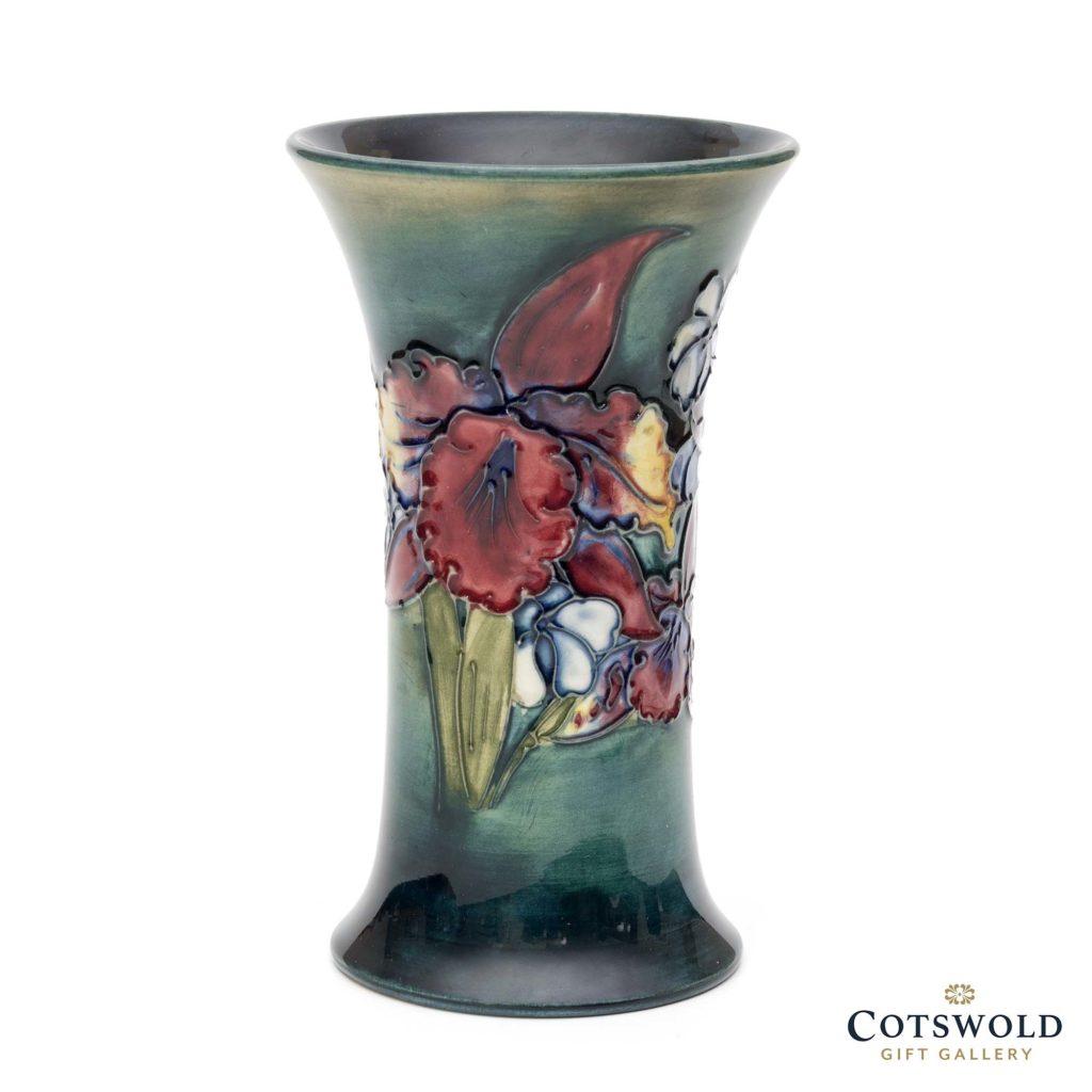 Vintage Walter Moorcroft Orchid 159 6 Vase 1 1024x1024