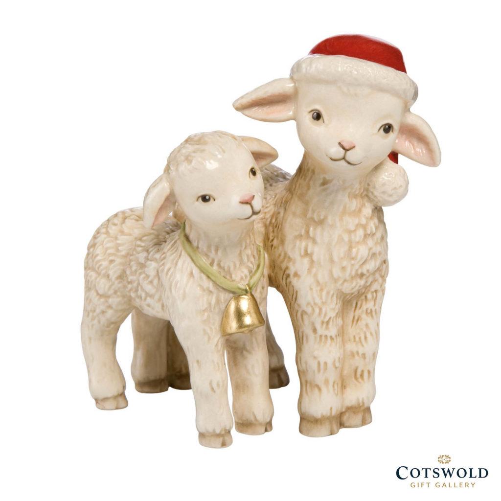 Goebel Pair Of Lambs Christmas Figure 1024x1024