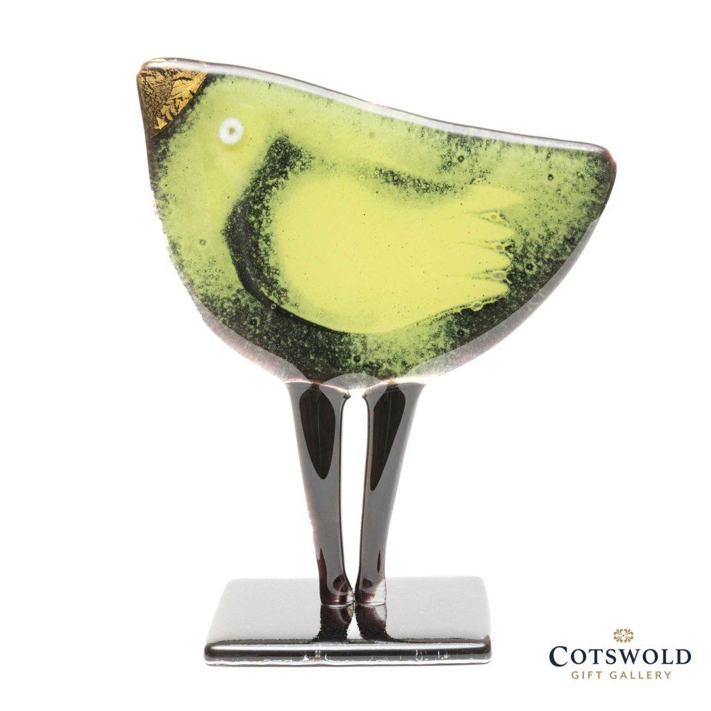 Habrat Glass Bird 15 Lime Gold 1024x1024