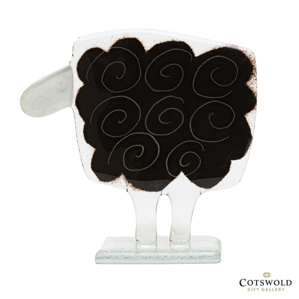 Habrat Glass Large Sheep Black 1024x1024