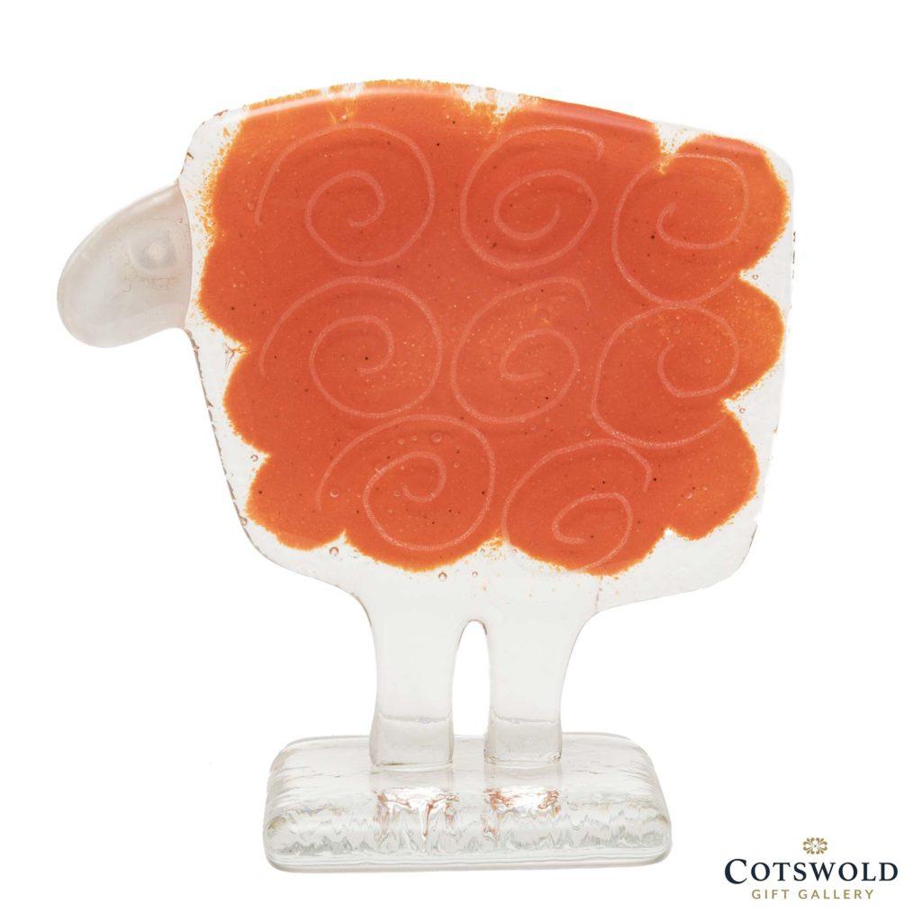 Habrat Glass Small Orange Sheep 1024x1024
