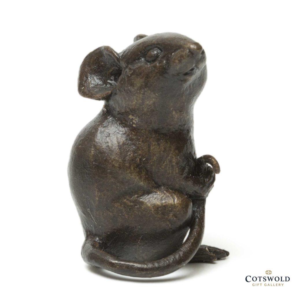 Michael Simpson Solid Bronze Little Mouse 1 1024x1024