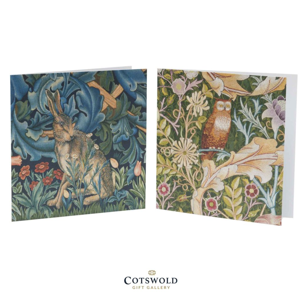 Museums And Galleries Tapestry Wildlife Cards 02 1024x1024