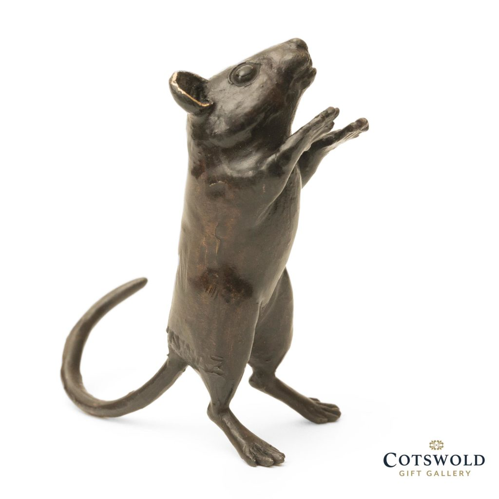 Steve Boss Sold Bronze Standing Dormouse 1 1024x1024