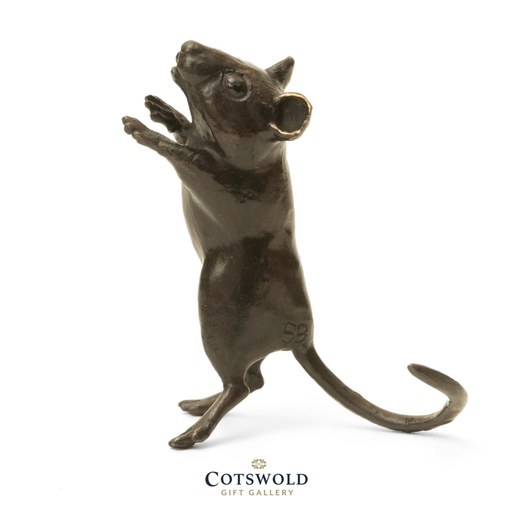 Steve Boss Sold Bronze Standing Dormouse 3 1024x1024