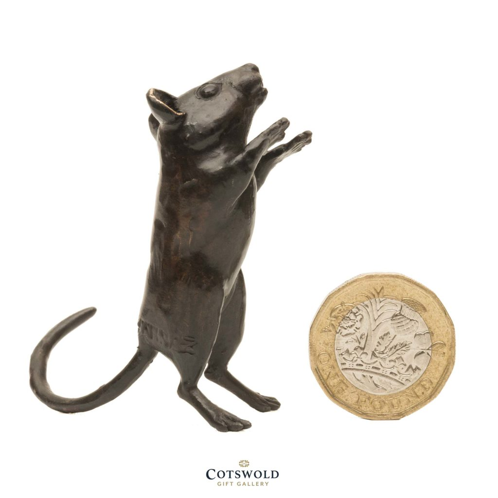 Steve Boss Sold Bronze Standing Dormouse 4 1024x1024